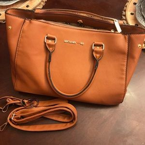 Michael Kors Large Purse With Attachable Straps